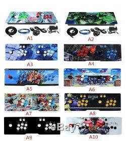 2020 Pandoras Games 135 3D Video game Machine 2448 Retro Arcade Game Console
