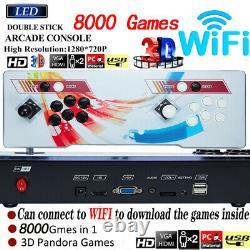 2021 Pandora Box Retro Video Games Console 8000 Games in 1 Arcade System WIFI ED