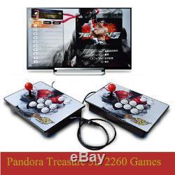 2260 Games Pandora Treasure 3D Retro Video Game Arcade Console Separable HDMI