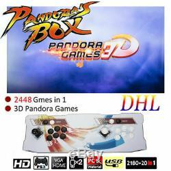2448 in 1 Pandora's Box Arcade Console Retro Video Games Version Double Stick NJ
