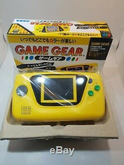 3 NEW SEGA Game Gear Console Rare (BLUE, YELLOW, RED) Tested Retro Vintage JAPAN