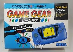 3 Rare NEW SEGA Game Gear Console (BLUE, YELLOW, RED) Tested Retro Vintage