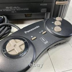 3DO REAL FZ-1 Console System Panasonic Retro Game Console Set Work Tested KNMI