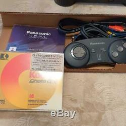 3DO REAL FZ-1 Console System Panasonic Retro game console New Tested Boxed