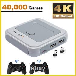 40000 Games HD 4K HDMI Output Retro Video Game Console Emulator 64G/128G Console
