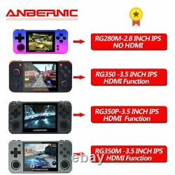 ANBERNIC RG350 350M 280M 350P Retro Game Video Game Console Built in 2500 Games