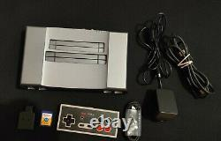 Analogue Nt mini v2 Noir Retro NES Game Console System with2gb Flashed SD Card