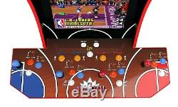Arcade1up 4 Player NBA Jamz Cabinet Retro Arcade 1UP Machine Video Game Classic