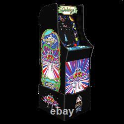 Arcade1up Legacy Galaxy 12 Games Riser Light Up Marquee Retro Arcade Cabinet