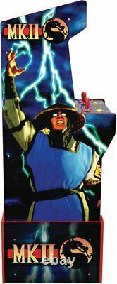 Arcade1up Mortal Kombat Legacy 12 Games Riser Light Up Marquee Retro Arcade NEW