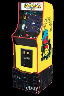 Arcade1up Pacman Legacy 12 Games In 1 Game Riser Light Up Marquee Retro Arcade