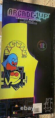 Arcade1up Pacman Legacy 12 Games In 1 Game With Riser Retro Arcade