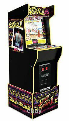 Arcade1up Street Fighter 12 Games Riser Retro Games Capcom Legacy Cabinet Arcade