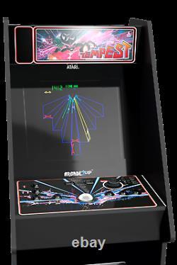 Atari Legacy Arcade1UP Machine Riser Marquee Arcade1UP Retro Cabinet 12 Games