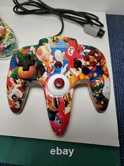 Authentic Custom N64 Console And Controller Retro Gaming Nintendo 64