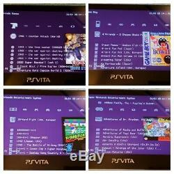 Black PS Vita PlayStation Vita OLED 128GB (PSP, PS1, Retro games)