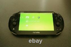 Black PS Vita Slim 64GB With Every Vita Game And Retro Games