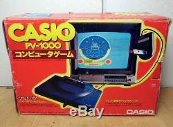 CASIO PV-1000 Computer Game Console 1983 Retro Video Game No Tested Rare Japan