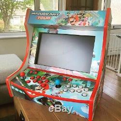 Custom 2 Player Gaming Bartop Arcade Machine Retro Console / Mame