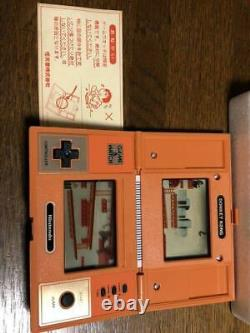 Game & Watch DONKEY KONG Retro Game RARE BRAND NEW! JAPAN DHL F/S Tracking