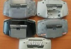 Gameboy Advance Lot of 13 Junk for parts GBA Nintendo console retro game FS JP