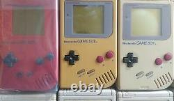 Gameboy Lot of 10 Junk for parts GB Nintendo console DMG-001 retro game FS JP