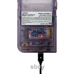 Gameboy Pocket with FunnyPlaying Retro Pixel IPS Backlit Backlight Mod Game Boy