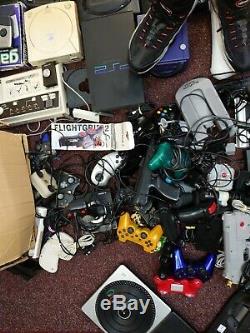 Huge Retro Gaming Job Lot Spares Or Repairs
