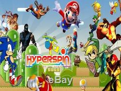 Hyperspin Retro Games Mame PC/CONSOLE 90+ Systems 22000 Games