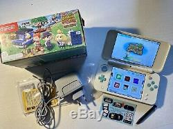 MINT NEW Nintendo 2ds XL Animal Crossing 130 Games 3ds Ghost Shop Twilight Retro