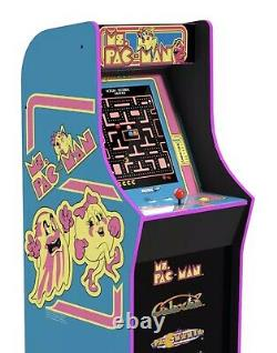 Ms Pacman Arcade Machine Retro Arcade Cabinet Arcade 1UP New 4 Games Brand New