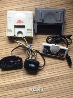 NEC PC ENGINE console PI-TG001 retro game vintage 1987 White Used