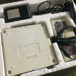 NEC PC ENGINE console PI-TG001 retro game vintage Used 9 softwares unconfirmed