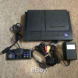 NEC PC-Engine DUO Turbo Duo Console System PI-TG8 retro game Black Used Courier