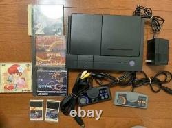 NEC PC Engine DUO Turbo Duo Console System PI-TG8 retro game Console 1991 Used