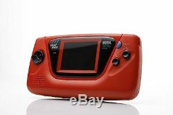 NEW SEGA Game Gear Console Rare HGG-3215 RED Tested Japan Retro NIB MINT