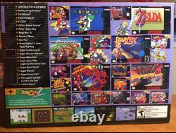 NEW Super Nintendo SNES Classic Mini Retro with 21 Games & 2 Controller UK SELLER