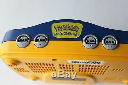 Nintendo 64 Pokemon Pikachu Game Console System Retro Kids Bundle N64 Vintage