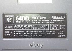 Nintendo 64DD Console System Disk Drive 64 Bit 1999 Retro Video Game Vintage