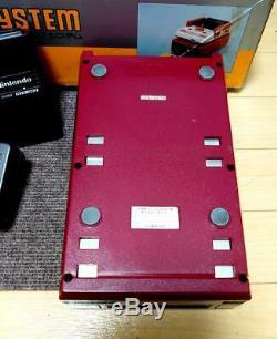 Nintendo Famicom Disk System Console Box Retro Game From Japan