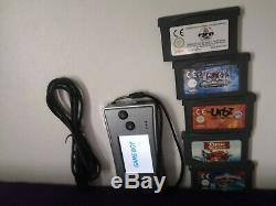 Nintendo Game Boy micro Silver FIFA retro console