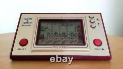 Nintendo Game Watch Chef Japan 1981 Rare And Retro Used Tested Works With Box