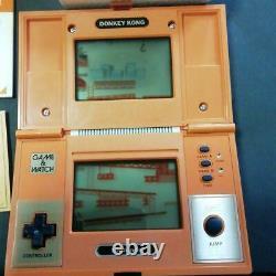 Nintendo Game & Watch DONKEY KONG Boxed JAPAN 1982 Retro Game Tested Working