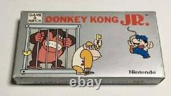 Nintendo Game & Watch DONKEY KONG Jr. Console Complete Portable Retro Tested Box