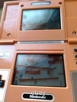 Nintendo Game & Watch Donkey Kong Multi Screen retro console Vintage Rare Used