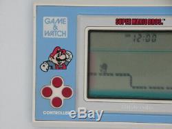 Nintendo Game & Watch Handheld SUPER MARIO BROS Retro Console Rare YM-105 BX