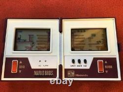 Nintendo Game & Watch Mario's MARIO BROS. Handheld console Vintage Retro Rare