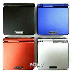 Nintendo GameBoy Advance SP Choose Your Color AGS-001 Game Boy GBA Console