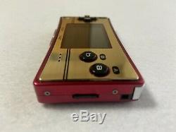 Nintendo GameBoy Micro 20th Anniversary Edition Famicom retro video game FedEx