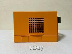 Nintendo Gamecube Orange Japan retro video game console controllers FedEx
